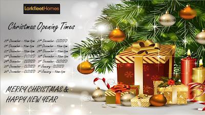 Larkfleet Homes Christmas opening