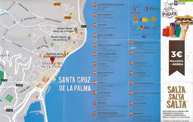 Este Jueves arrancó la I Ruta de La Pulguita de Santa Cruz de La Palma