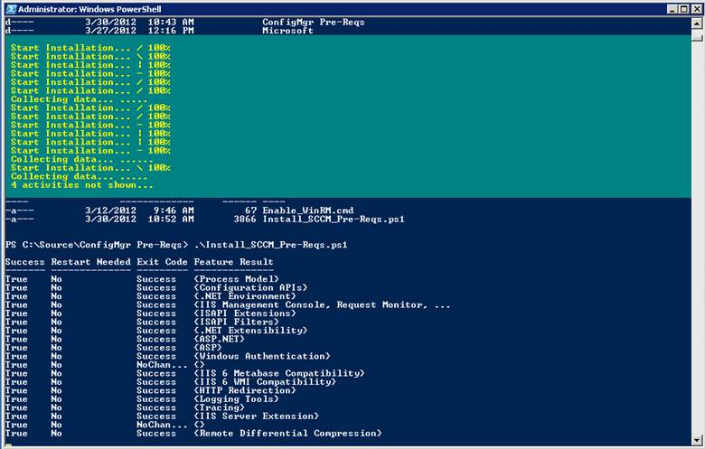 Ben Morris: PowerShell - Scripted Install of SCCM site