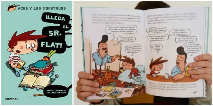 mejores cuentos niños 5 a 8 años, agus y los monstruos