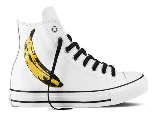 19ce1adced2 Chuck Taylor All Star x Andy Warhol hi-cut banana printed sneakers, Php 4,  950.