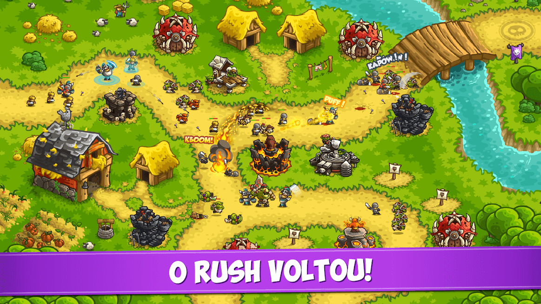 Kingdom Rush Vengeance v 1.9.10 apk mod DINHEIRO INFINITO / MOD MENU