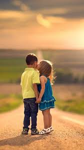 Top latest hd Baby Boy to Girl frist kiss images photos pic wallpaper free download 36