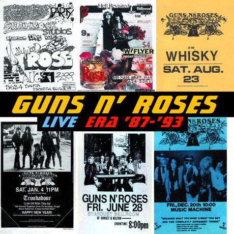 Full Mp3 Guns N' Roses Album Live Era '87-'93 | Download Mp3