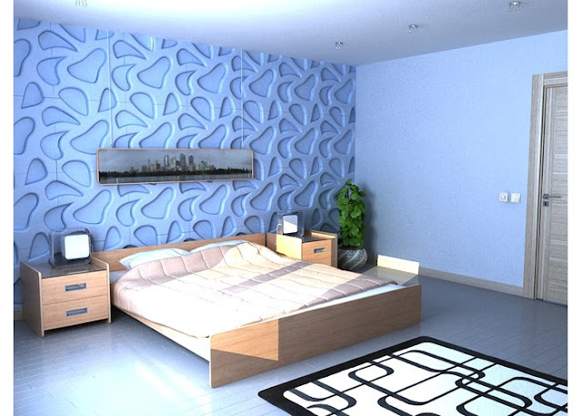 Decorative 3d wall panels for unusual wall decor 2017 for Living room 3d tiles