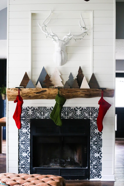 Rock star feature DIY Scrap Wood Christmas Trees