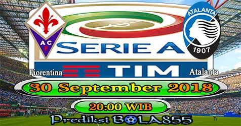 Prediksi Bola855 Fiorentina vs Atalanta 30 September 2018