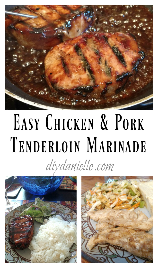 Simple Chicken and Pork Marinade for Grilling