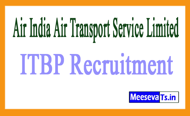 Air India Air Transport Service Limited AIATSL Recruitment Notification
