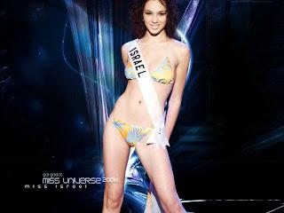 Gal Gadot in bikini at Miss Universe