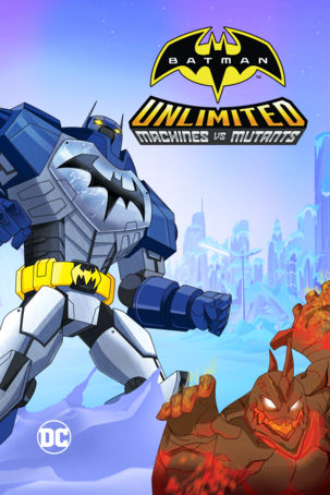Batman Sem Limites: Mechas vs. Mutantes Torrent – WEB-DL 720p e 1080p Dual Áudio (2016)