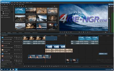 MAGIX Vegas Pro 15.177 Suite (x64) Full Version