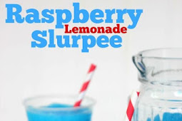 Raspberry Lemonade Slurpee
