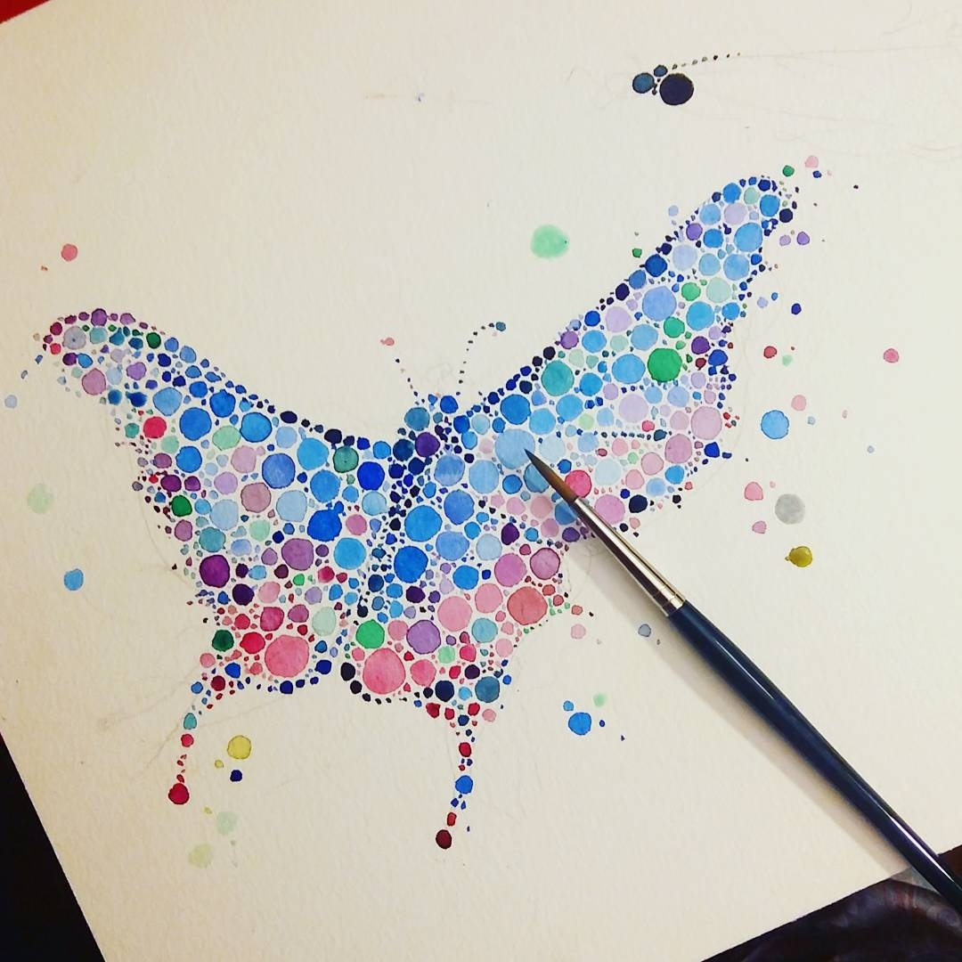 11-Butterfly-Ana-Enshina-anaensh-Dot-and-Circle-Animal-Paintings-Ishihara-Test-www-designstack-co