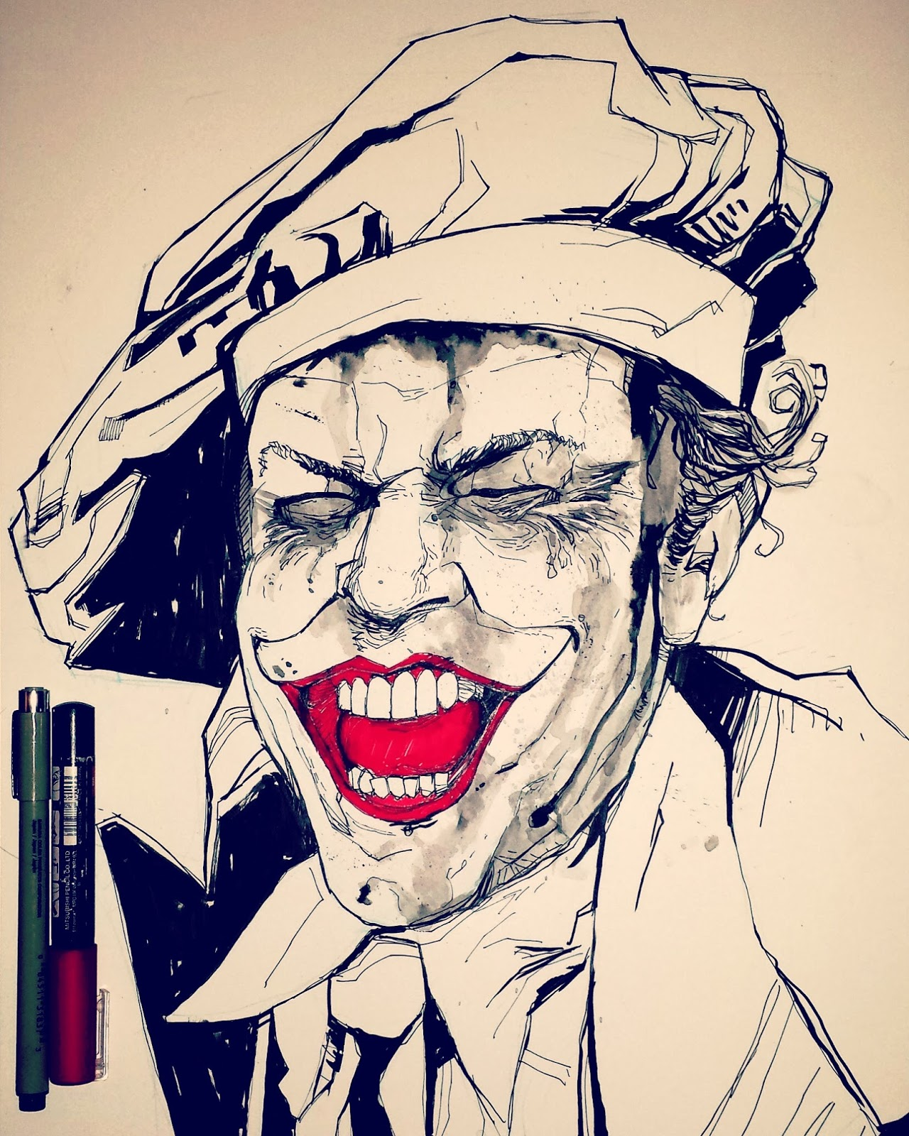 Batman Jack Nicholson Drawing