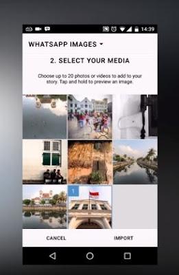 Maksimal 20 foto yang bisa kamu pilih