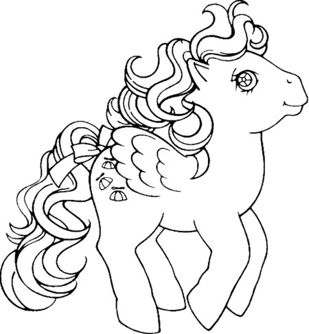 disney my little pony coloring pages | 25 My Little Pony Cartoon Coloring Pages - Free Printable ...