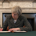 UK Prime Minister signs the letter that will trigger Article 50