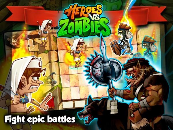 Heroes Vs Zombies v15.0.0 Mod APK-screenshot-3