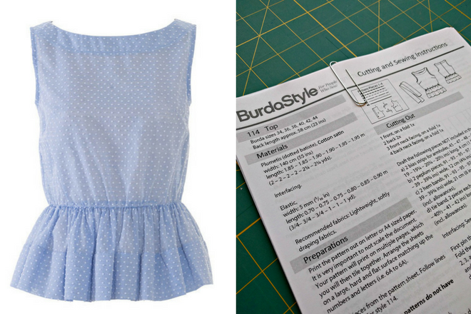 BurdaStyle gave away free printed PDF sewing patterns at the Sewing and Quilt Expo.