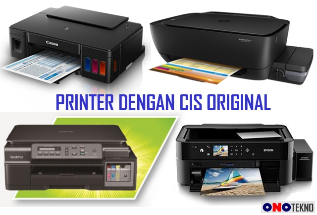 4 MERK PRINTER INFUS / CIS ORIGINAL