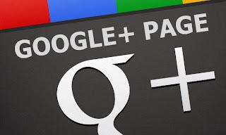 Halaman atau Fans Page di Google Plus