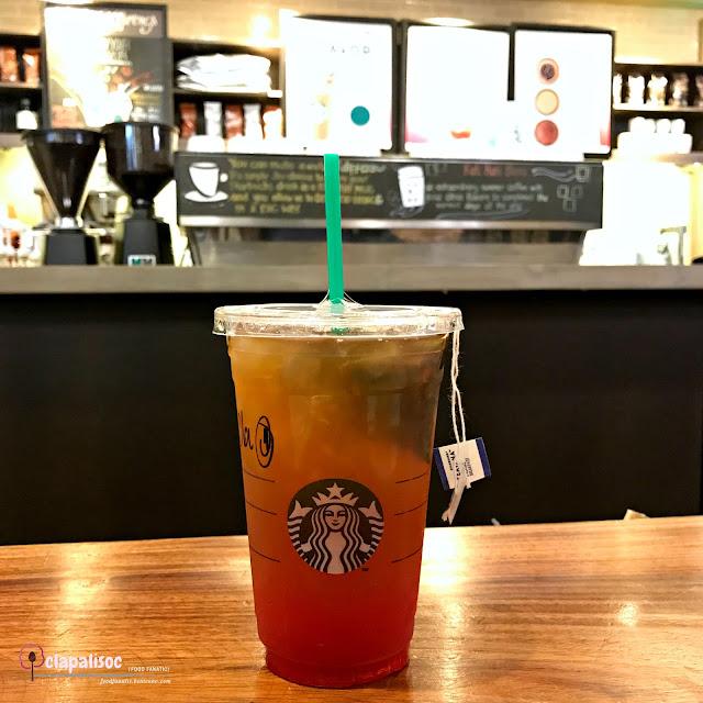 Iced English Breakfast from Starbucks BGC Stopover