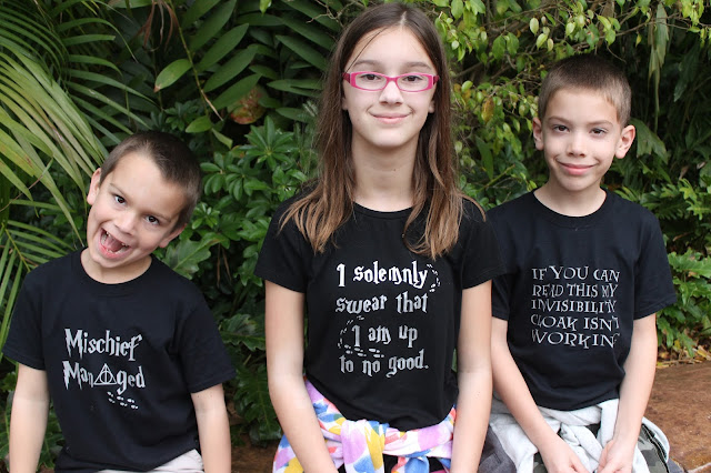 Custom Harry Potter t-shirts