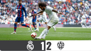Real Madrid vs Levante 1-2 Video Gol Highlights