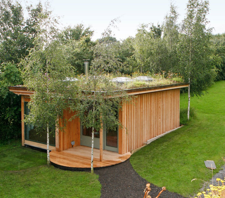 outdoor garden office. shed box of delights green roof container garden office outdoor