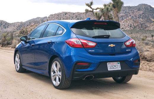 2019 Chevy Cruze Hatchback