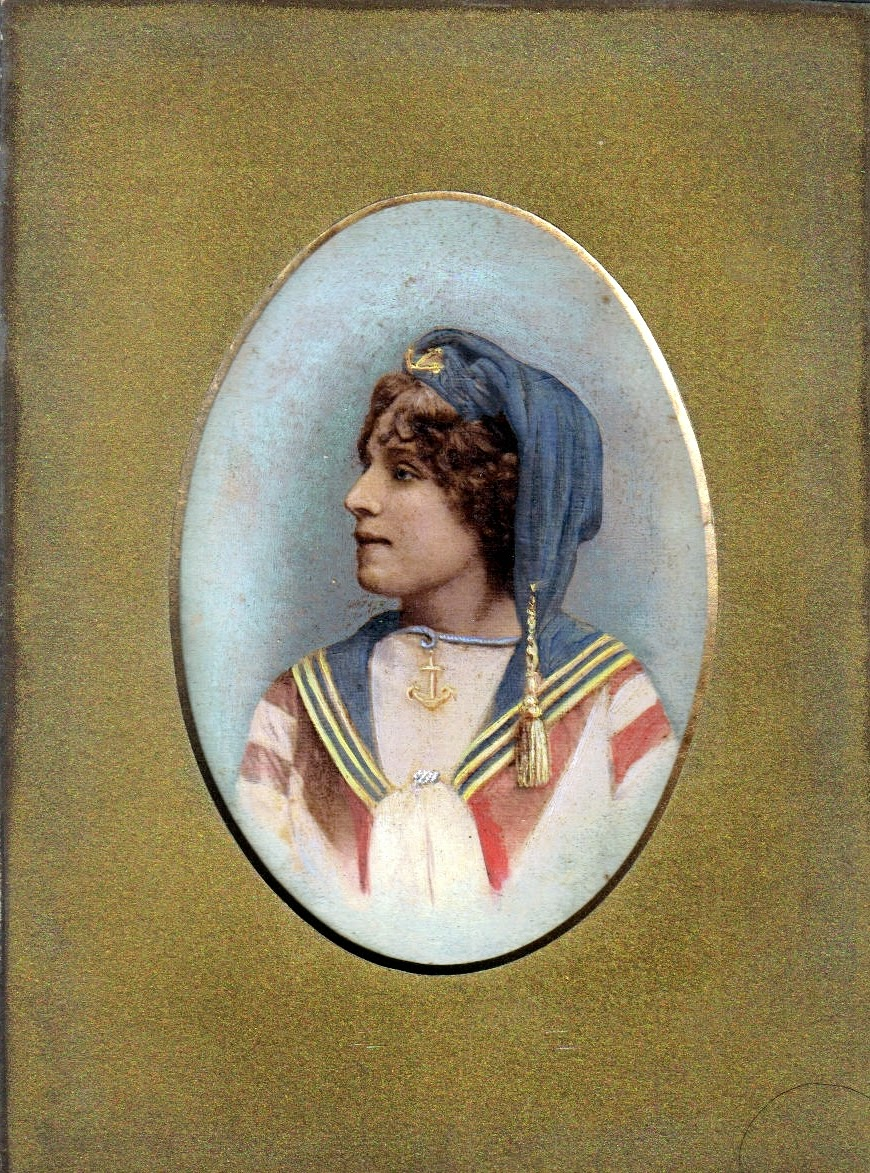 Mary Ann Rose in costume - Prince of Denmark early 1900's