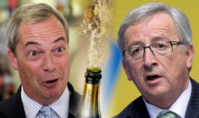 Farage and Juncker