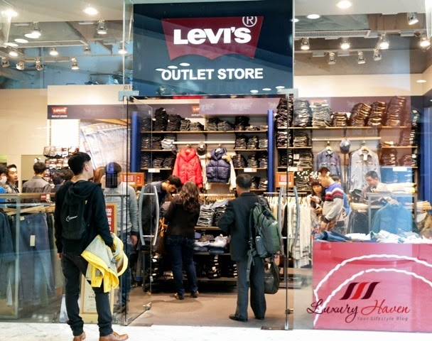hong kong citygate outlets shopping levis bargain