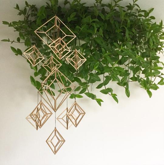 Min växtvägg light - så här blev den! | www.var-dags-rum.se