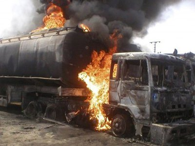 Petrol Tanker Explosion In Niger State