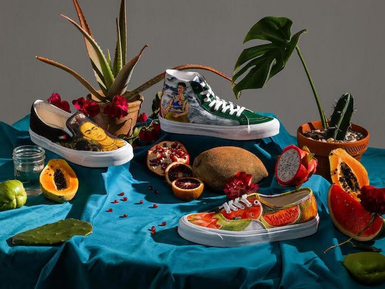 Vans Is Releasing An Epic Collection Inspired By Painter Frida Kahlo