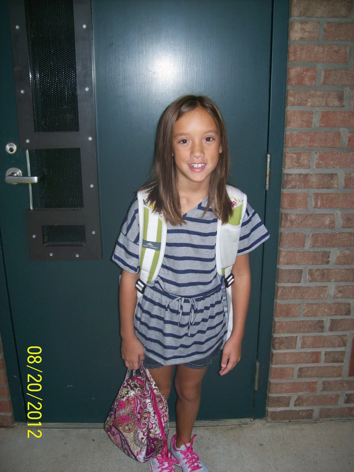 Happily Chaotic Kaylyn S First Day Of 4th Grade