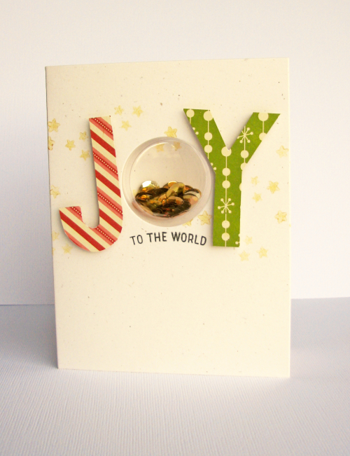 Hampton Art Blog Joy To The World Card By Nicole Nowosad