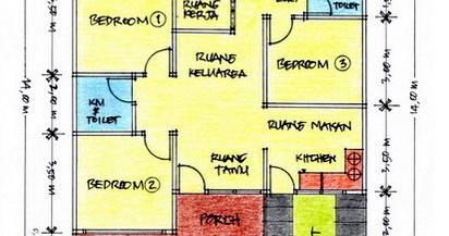 39+ desain rumah ukuran 100 meter persegi