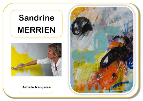 Portrait d'artiste - Sandrine Merrien maternelle