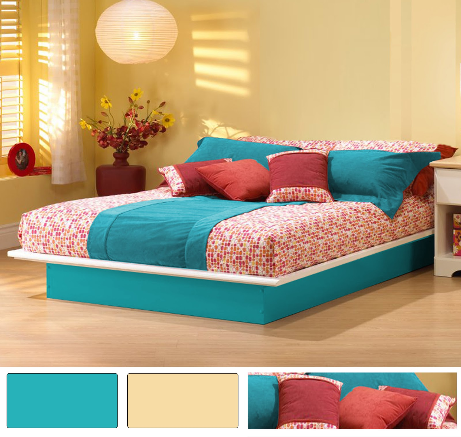 decorating ideas wall paint living rooms turquoise bedroom decors art october 2012. Black Bedroom Furniture Sets. Home Design Ideas