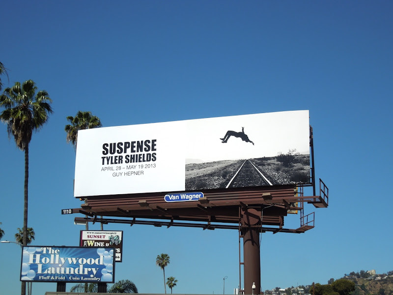 Tyler Shields Suspense billboard