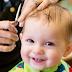 Crianças no cabeleireiro