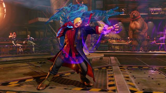 Street Fighter V Devil May Cry and Mega Man