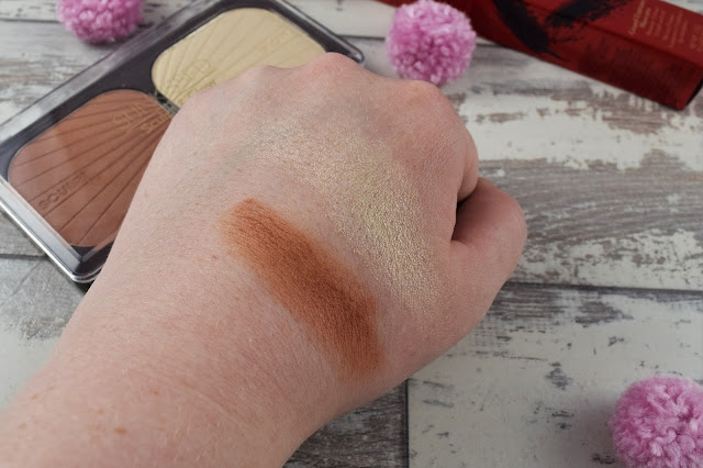 Sunkissed Sculpt & Glow Palette Swatches