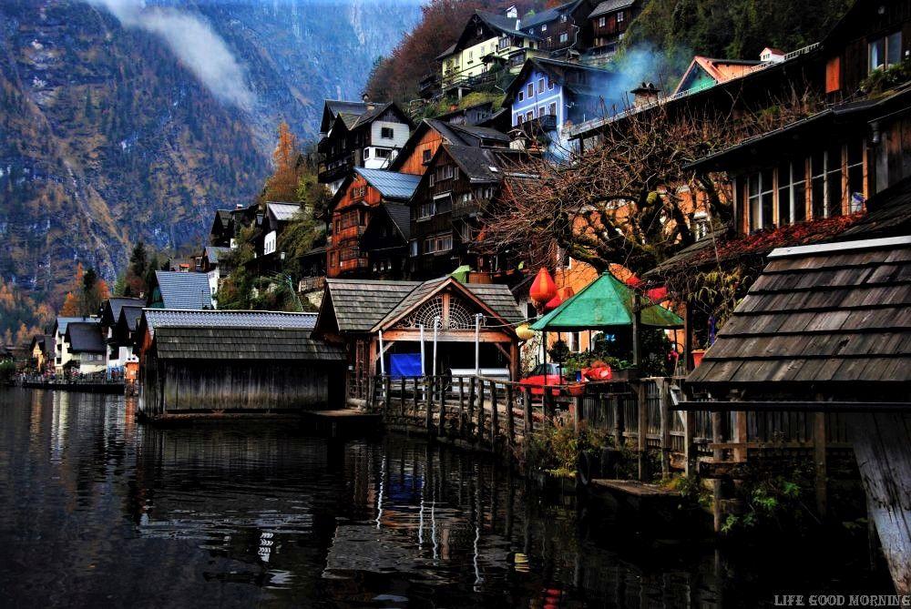 Hallstatt  - najpiękniejsze miejsce w Górnej Austrii.