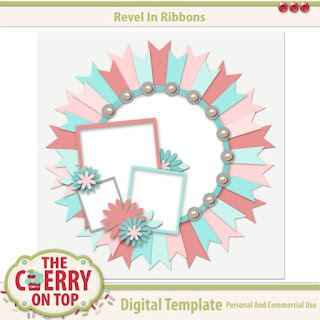 Revel In Ribbons Template #1