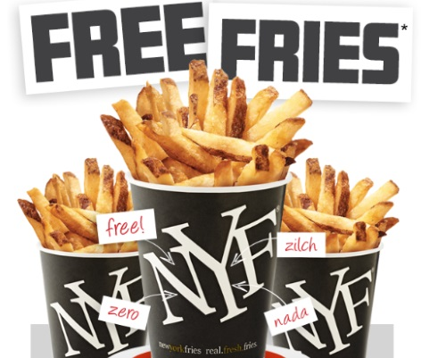 Free New York Fries Fries