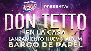 Concierto lanzamiento de DON TETTO en Bogotá 2019 POS 1